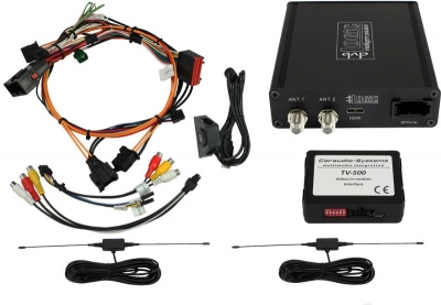 Tuner DVB-T2 MPEG-4 USB HDMI Land Rover navigation systems version 2