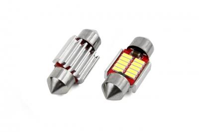 Żarówka LED CANBUS 10smd 4014 Festoon 31mm White 12V/24V