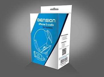 Podstawka Dension iPhone 5s, 5c i 5 ze złączem USB dla Dension Gateway