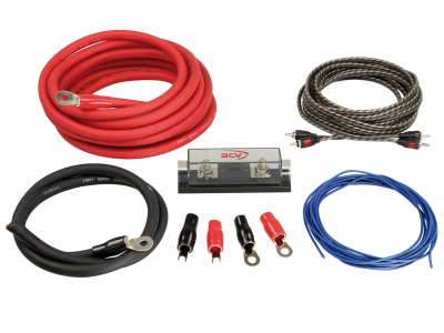 Zestaw kabli do wzmacniacza samochodowego ACV LK-35 35mm2
