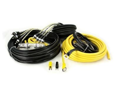 Zestaw kabli do wzmacniacza samochodowego Hollywood CCA-48