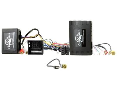 Adapter zdalnego sterowania z kierownicy Porsche Panamera, Macan, Cayenne ze wzmacniaczem światłowodowym z MOST 25 i Quadlock