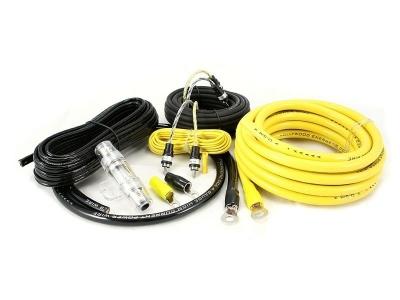 Zestaw kabli do wzmacniacza samochodowego Hollywood CCA-24