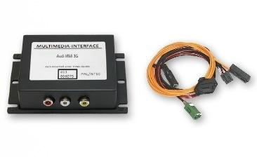 Interfejs Audio Wideo, DVD, DVB-T Audi - MMI HIGH 3G / 3G+, VW RNS 810