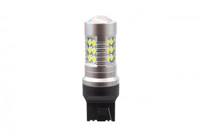 Żarówka 1156 LED CANBUS 24SMD 3030 T20 7440 W21W White 12V/24V