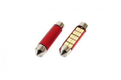 Żarówka LED CANBUS 20SMD 4014 Festoon 41mm White 12V/24V
