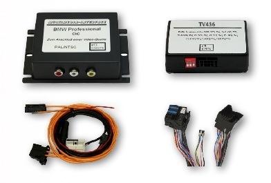 Interfejs AV BMW CIC + fabryczny tuner TV