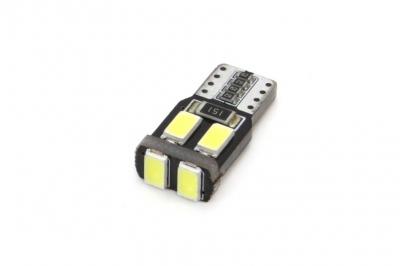 Żarówka LED CANBUS 6SMD-2 5730 T10 (W5W) White