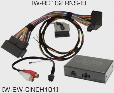 Moduł JAUX_BT-02 Bluetooth Audi RNS-E