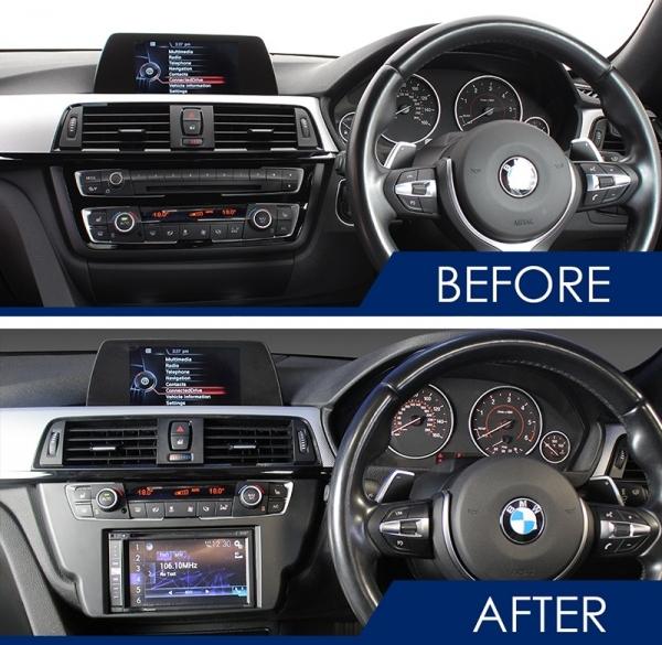 Zestaw montażowy BMW serii 3 (F30, F31, F34), serii 4 (F32, F33, F36) CTKBM30