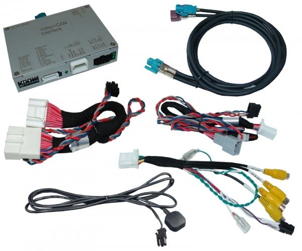 Adapter do kamery cofania Renault EasyLink 2020 -> Nawigacja Easy Link z 7 lub 9,3-calowym monitorem