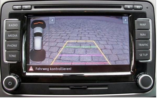 Interfejs do podłączenia kamery cofania VW, Skoda,Seat RNS510, Columbus, Trinax