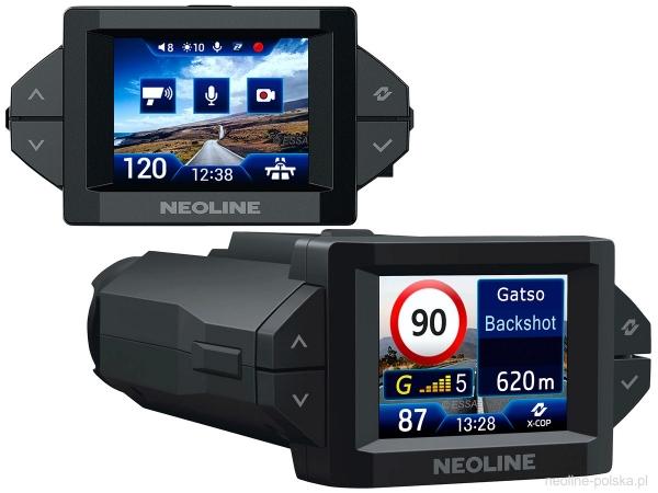 Neoline X-COP 9300s wideorejestrator Full HD z trybem parkingowym, aktywny antyradar