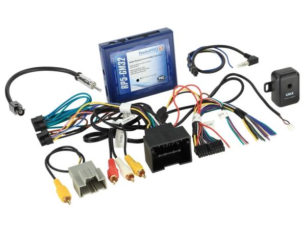 Adapter do kierownicy Chevrolet, GMC, 48Pin nawigacja satelitarna/wzmacniacz/antena