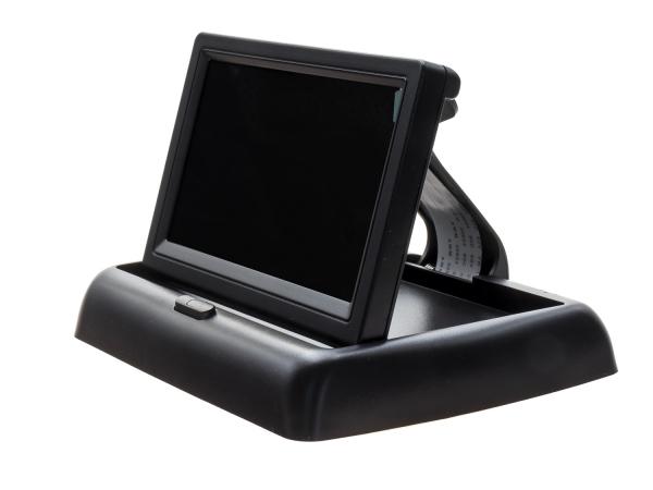 Monitor 4,3 cala dla kamery cofania składany
