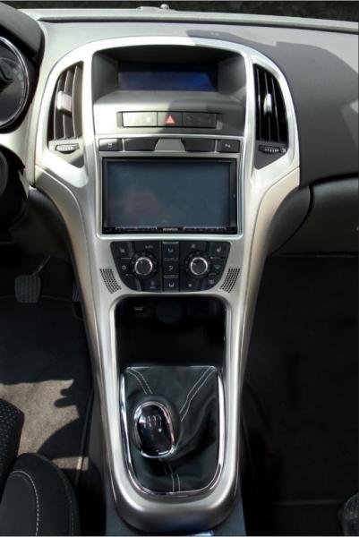 Ramka radiowa 2 DIN Opel Opel Astra J (IP-J) 2009 - 2016 czarny