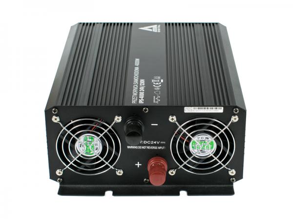 Samochodowa przetwornica napięcia 24 VDC / 230 VAC IPS-4000 4000W
