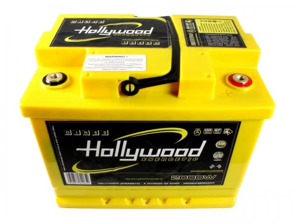 Akumulator Hollywood DIN-60 12V, 2000W, 60Ah