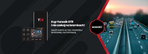 Yanosik GTR + Uchwyt Gratis !!!