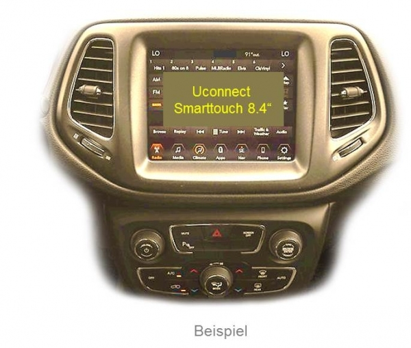 Interfejs Wideo Jeep Compass Uconnect 8.4 Live