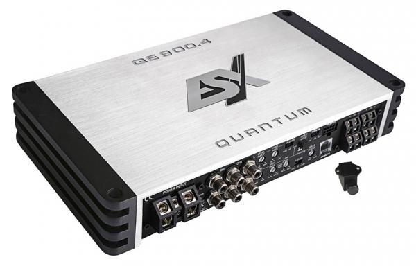 Wzmacniacz samochodowy 4- kanałowy ESX QUANTUM QE900.4, Moc wyjściowa 900 W RMS