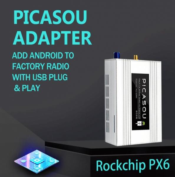 Adapter Android CarPlay PLC-3099ST z wejściem HDMI/wejściem kamery tylnej